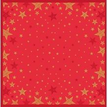 Duni Duni Mitteldecke Shining Star Red 84 x 84 cm