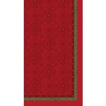 Duni Mitteldecken Motiv Festive Charme Red 84 x 84 cm 1 Stück