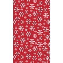 Duni Duni Tischdecke Red Snowflakes 120 x 180 cm
