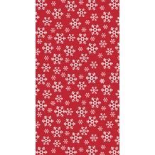Duni Duni Tischdecke Red Snowflakes 138 x 220 cm