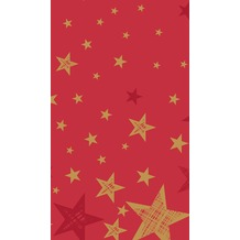 Duni Duni Tischdecke Shining Star Red 120 x 180 cm