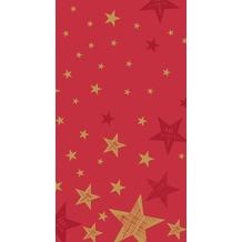 Duni Duni Tischdecke Shining Star Red 138 x 220 cm