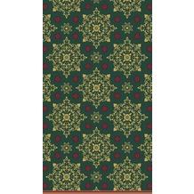 Duni Duni Tischdecke X-Mas Deco Green 138 x 220 cm