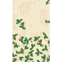Duni Tischdecken Motiv Holly Ivy 120 x 180 cm 1 Stück