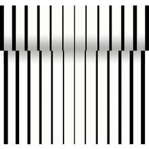 Duni Dunicel-Tischläufer Tête-à-Tête 40 x 2400 cm Black & White