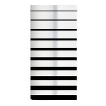 Duni Dunicel Tischdeckenrolle 10 x 1,20 m Black & White