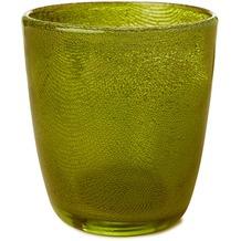 Duni Kerzenhalter 105x90mm Raindrops green, 4 Stück