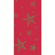 Duni Mitteldecken aus Dunicel 84 x 84 cm My Star Red