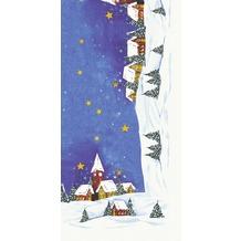 Duni Mitteldecken aus Dunicel 84 x 84 cm Snowscape