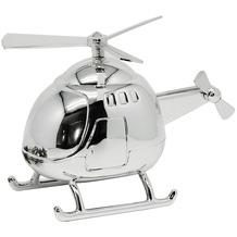 EDZARD Spardose Helicopter L 13 cm