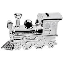 EDZARD Spardose Lokomotive L 14 cm