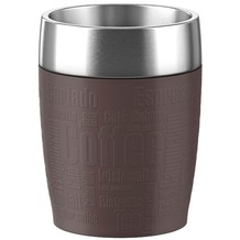 emsa Isolierbecher TRAVEL CUP, Chocolate, 0,20 Liter
