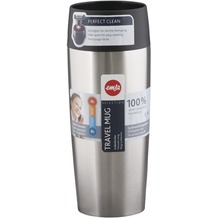 emsa Isolierbecher TRAVEL MUG Edelstahl, 0,36 Liter