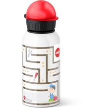 emsa Trinkflasche KIDS, 0,40 Liter, Labyrinth Boy