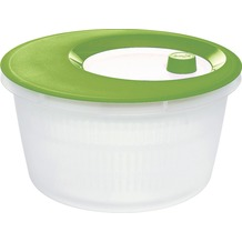 emsa Salatschleuder BASIC, Weiß/Jungle, 4,00 Liter