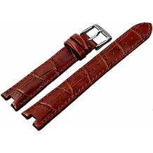 Engelhardt Lederband, braun 18 mm - dunkelbraun