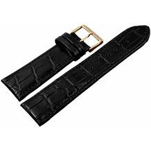 Engelhardt Lederband, schwarz 24 mm - schwarz