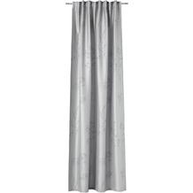 ESPRIT Schal mit Universalband, verdeckte Schlaufe Shape, grau 135x250cm