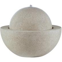ESTERAS Zimmerbrunnen Bocon Stone Sand (Outdoor geeignet) Ø57x55 cm