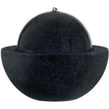 ESTERAS Zimmerbrunnen Losada Stone Black (Outdoor geeignet) Ø57x55 cm