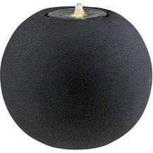 ESTERAS Zimmerbrunnen Pagua Stone Black (Outdoor geeignet) Ø50x44 cm