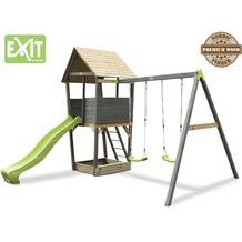 EXIT Aksent Spielturm mit Doppelschaukel