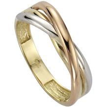 Fascination by Ellen K. Ring 333/- Gold dreifarbig mehrfarbig 52 (16,6)