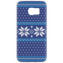 Flavr Case Ugly Xmas Sweater for Galaxy S7 blau