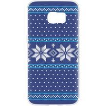 Flavr Case Ugly Xmas Sweater for Galaxy S7 Edge blau