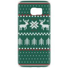 Flavr Case Ugly Xmas Sweater for Galaxy S7 Edge grün