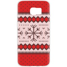 Flavr Case Ugly Xmas Sweater for Galaxy S7 Edge rot