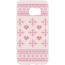 Flavr Case Ugly Xmas Sweater for Galaxy S7 pink