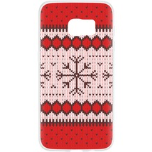 Flavr Case Ugly Xmas Sweater for Galaxy S7 rot