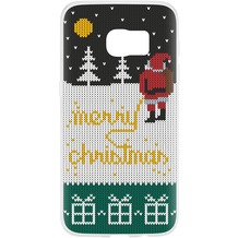 Flavr Case Ugly Xmas Sweater Yellow Snow for Galaxy S7 mehrfarbig