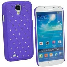 Fontastic Hardcover Diamond lila für Samsung Galaxy S4