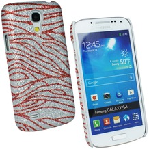 Fontastic Hardcover Flame rot für Samsung Galaxy S4