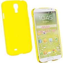 Fontastic Hardcover Pure gelb für Samsung Galaxy S4