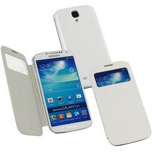 Fontastic Hardcover Window Plus creme für Samsung Galaxy S4