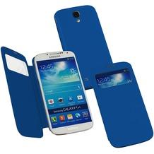 Fontastic Hardcover Window Plus dunkelblau für Samsung Galaxy S4