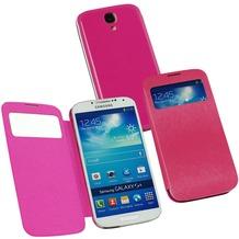 Fontastic Hardcover Window Plus pink für Samsung Galaxy S4