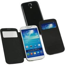 Fontastic Hardcover Window Plus schwarz für Samsung Galaxy S4