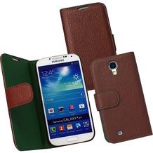 Fontastic PU Tasche Diary Noma braun für Samsung Galaxy S4