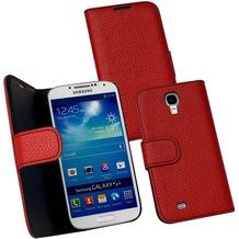 Fontastic PU Tasche Diary Noma weinrot für Samsung Galaxy S4