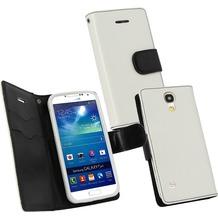 Fontastic PU Tasche Diary Twin weiß für Samsung Galaxy S4