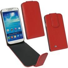Fontastic PU Tasche Flip Noma weinrot für Samsung Galaxy S4