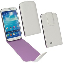 Fontastic PU Tasche Flip Noma weiß für Samsung Galaxy S4