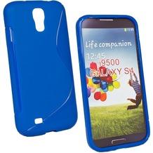 Fontastic Softcover Wave blau für Samsung Galaxy S4