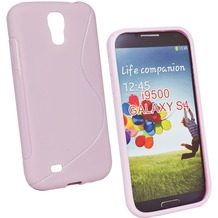 Fontastic Softcover Wave pink für Samsung Galaxy S4