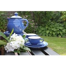 friesland geschirr service set in der farbe blau. Black Bedroom Furniture Sets. Home Design Ideas