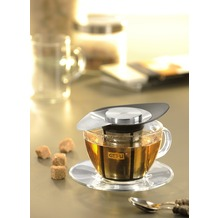 GEFU Tee-Filter ARMONIA Edelstahl und Kunststoff